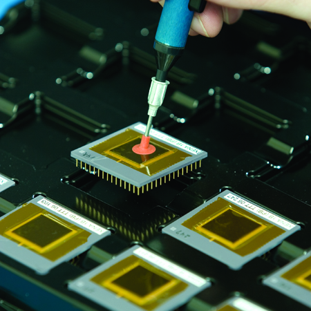 ESD Latch-up testing from EAG Laboratories Microelectronics lab